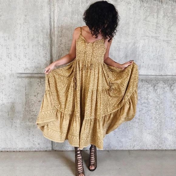 7e4c6b8ae06e Dresses   New Boho Gypsy Wild Thing Animal Print Maxi Dress   Poshmark